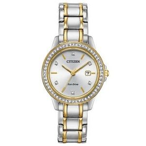 CITIZEN GORGEOUS stainless steel eco-drive watch